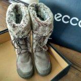 Зимние ботинки 37-37,5. Фото 1.
