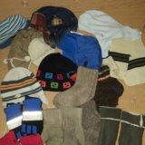 Шапки, перчатки, варежки, носочки, шарф. Фото 1.