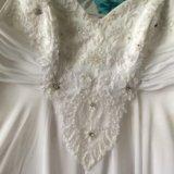 Свадебное плать. Фото 2.