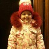 Шикарная шапочка для девочки. Фото 3. Москва.