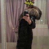 Зимнее кожаное пальто. Фото 2.
