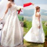 Свадебное платье. Фото 1. Ставрополь.
