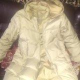 Пуховое пальто. Фото 1.