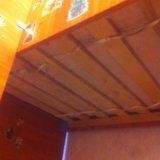 Кровать двухъярусная ,светлое дерево,с мотрасами,. Фото 4.