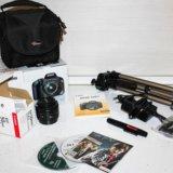 Набор фототехники(canon eos 550d+...). Фото 1.