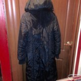 Пальтое зимнее черное. Фото 2. Москва.