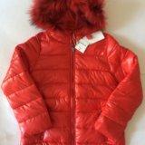 Новая куртка для девочки 8 лет. Фото 1.