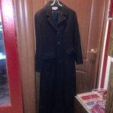 Пальто демисезонное черное. Фото 3.
