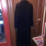 Пальто демисезонное черное. Фото 2.