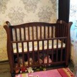Польская детская кроватка 140×65. Фото 1. Зеленоград.