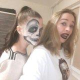 Макияж на хеллоуин, вечерний дневной pin up макияж. Фото 4.