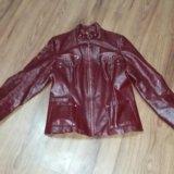 Курточка кожаная натуральная. Фото 1.