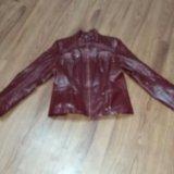 Курточка кожаная натуральная. Фото 2.