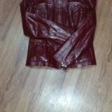 Курточка кожаная натуральная. Фото 4.