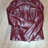 Курточка кожаная натуральная. Фото 3.