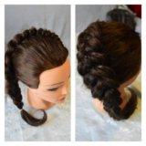 Плетение кос, косы. Фото 1.