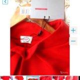 👑prada 👑новое красное платье. Фото 3.