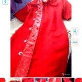 👑prada 👑новое красное платье. Фото 4.