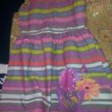 Детские платья 2 штуки. Фото 1. Тольятти.