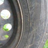 Зимние колеса nordman rs r15. Фото 1.
