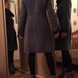 Пальто с мехом шерстяное. Фото 2.