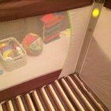 Детская кроватка манеж. Фото 4.