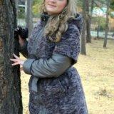 Зимнее пальто-пуховик. Фото 1.