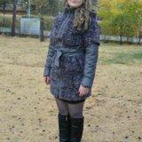 Зимнее пальто-пуховик. Фото 2.