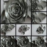 """Брошь  """"серебряная роза"""". Фото 2. Москва."""