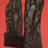 Перчатки кожаные. Фото 2. Москва.