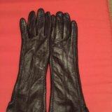 Перчатки кожаные. Фото 3. Москва.