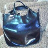 Объемная кожаная сумка. Фото 3. Орел.