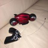 Мотоцикл человека паука на пульте управления. Фото 4.