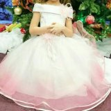 Платье праздничное для девочки. Фото 1.