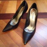 Туфли черные кожаные 36 размер. Фото 4.