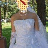 Платье свадебное. Фото 1.