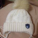 Детская шапочка на зиму. Фото 2.