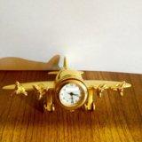 Часы самолёт 🛩. Фото 1.