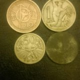 Монеты старой чехии. Фото 1. Санкт-Петербург.