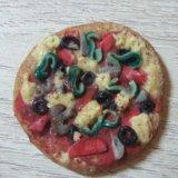 Пицца из полимерной глины. Фото 1. Сочи.