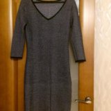 Шерстяное платье ( тёплое ). Фото 1.