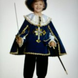 Новогодний костюм мушкетера. Фото 1.