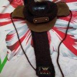 Комплект куртка+ шапка с шарфом для собаки. Фото 2.