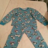 Пижама тёплая  детская для ребенка 1.5-2года. Фото 1. Нальчик.