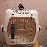 Переноска для кошек. Фото 1.