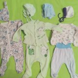 Пакет одежды для новорожденного. Фото 1.
