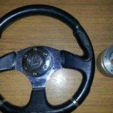 Руль с классики на заз-968. Фото 1.