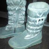 Зимние сапожки для принцессы, размер 30. Фото 4. Новоуральск.