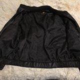 Куртка кожаная мужская. Фото 2.