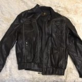 Куртка кожаная мужская. Фото 1.